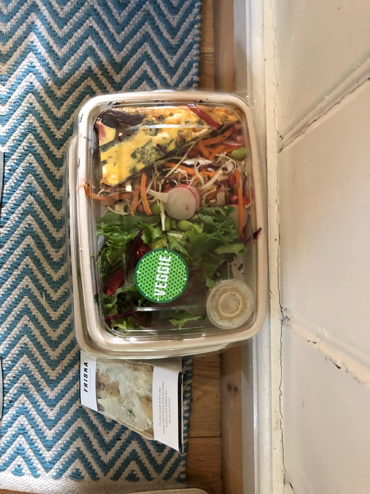 Friska - veggie selection