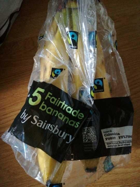 5 fairtrade bananas