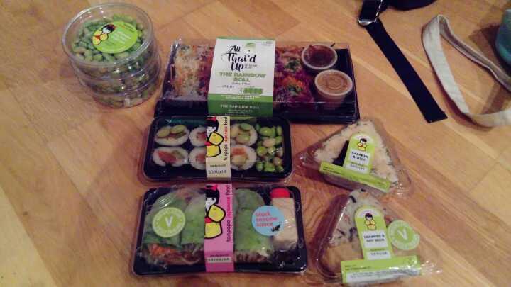 Planet organic sushi