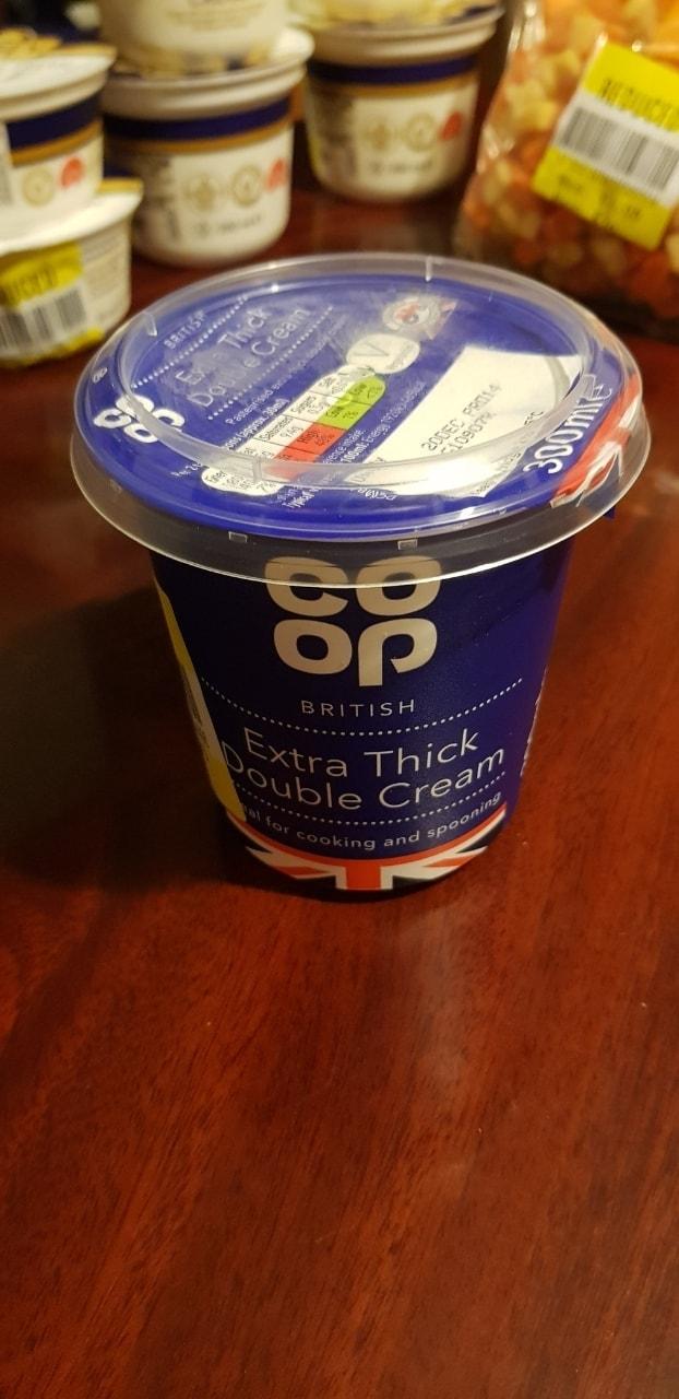Extra thick double cream 300ml