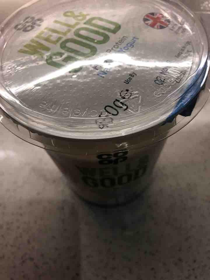 X3 high protein natural yoghut