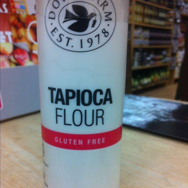 tapioca flour (gluten free)