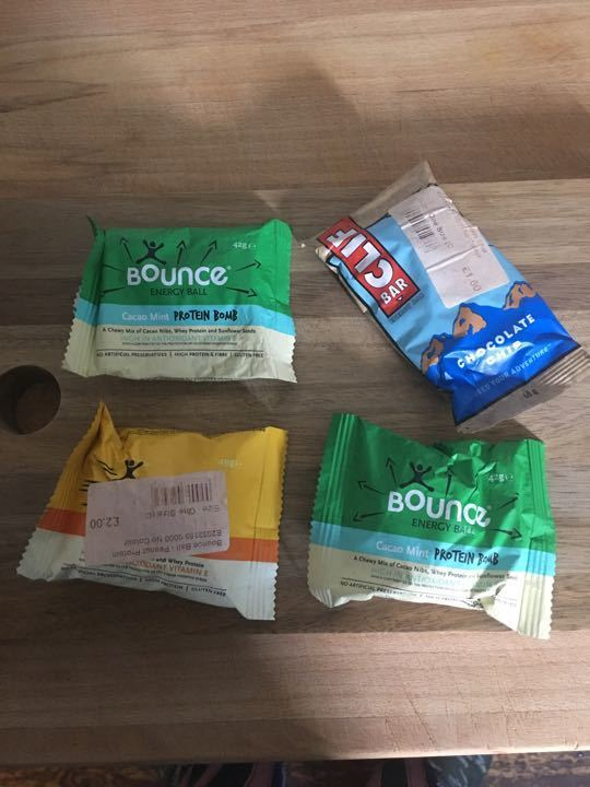 Out of date protein bars