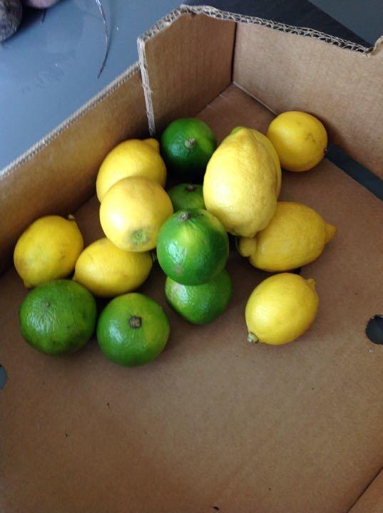 Anyone fancy making lemon and lime jam?