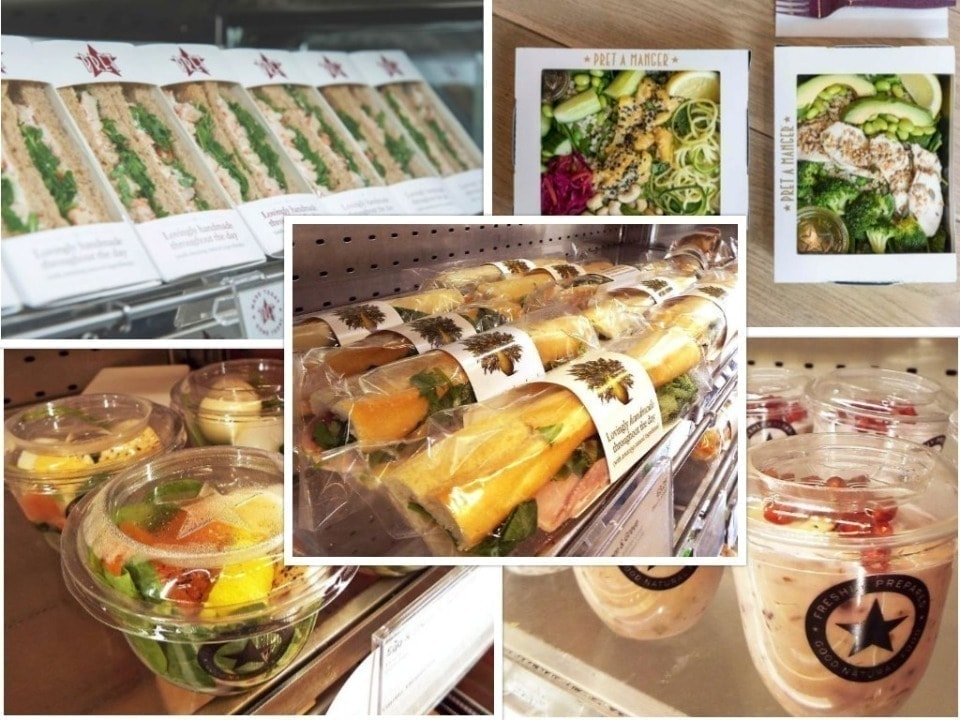 Pret-A-Manger Collection From Monday Evening