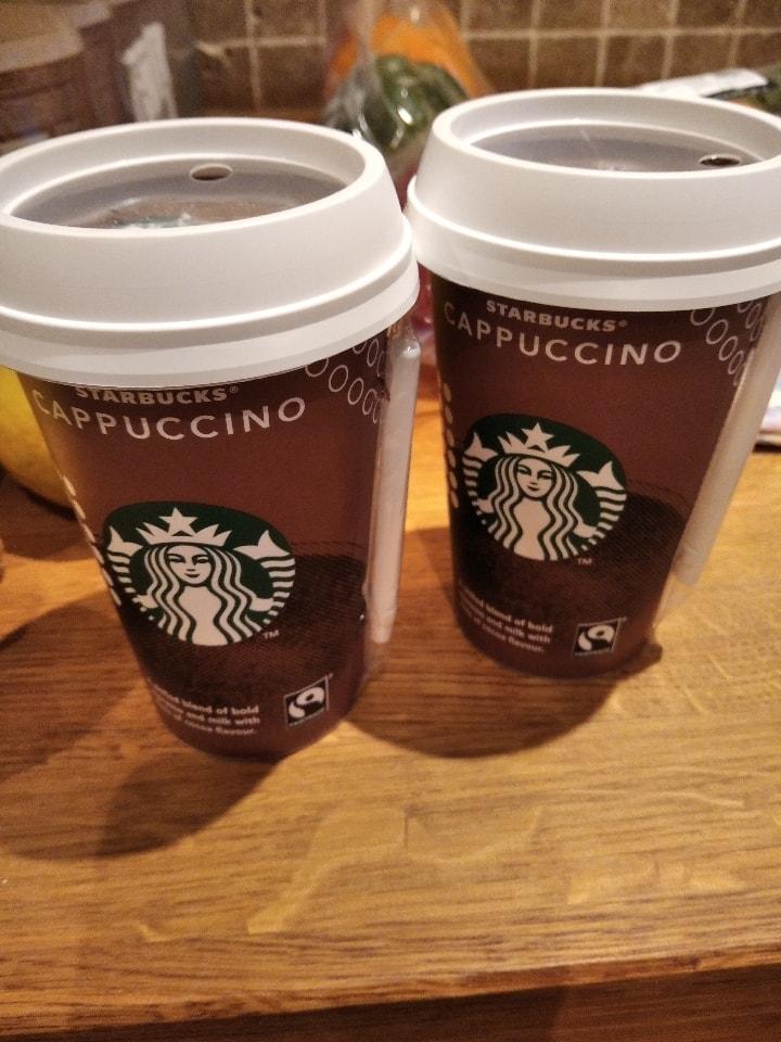 Starbucks iced cappucino x x2