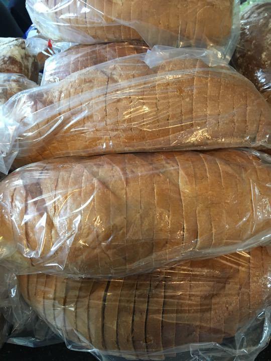 White sliced bread x 10