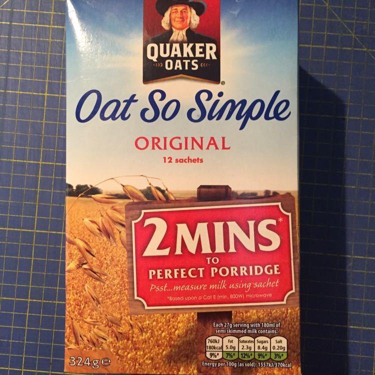 Quaker Oat So Simple (12 sachets)