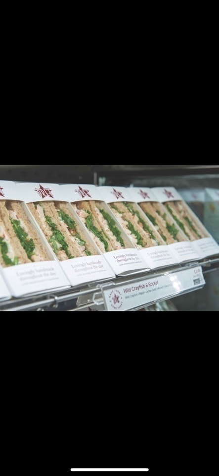 PRET club sandwich