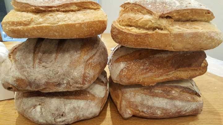 Sour dough loaves