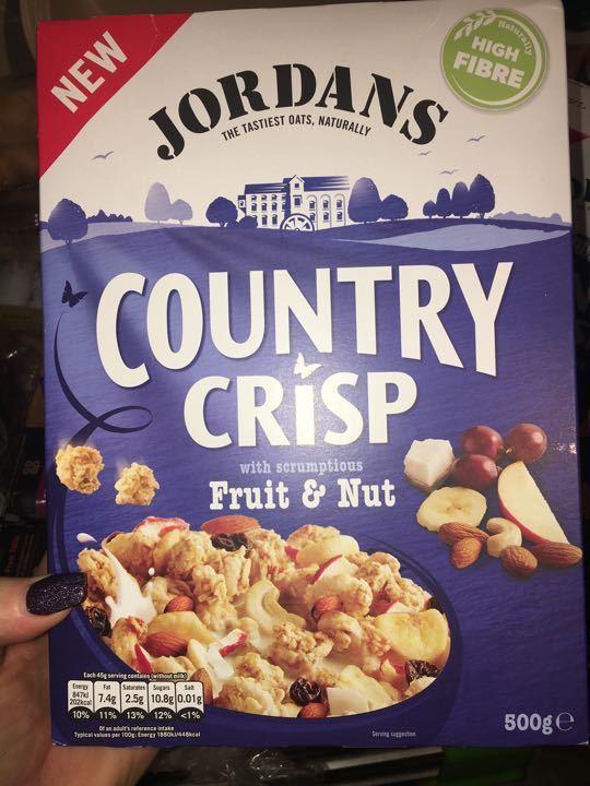 Jordan's fruit & nut