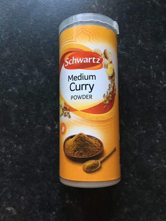 Medium curry powder (base for most curries)