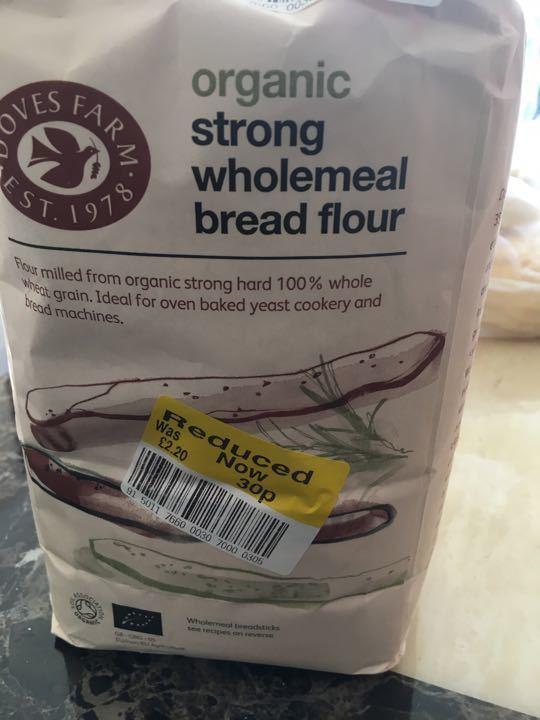 Strong wholemeal bread flour