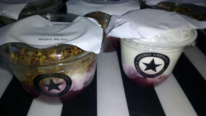 PRET Yogurts/ Muesli pots