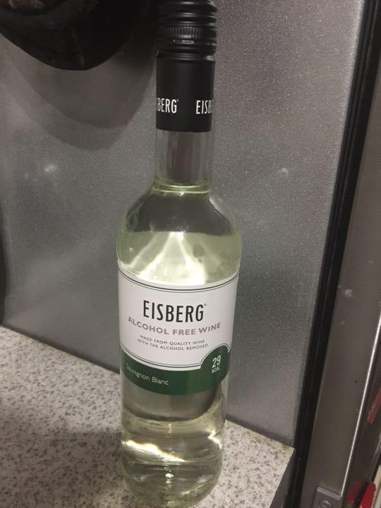 Non alcoholic white wine
