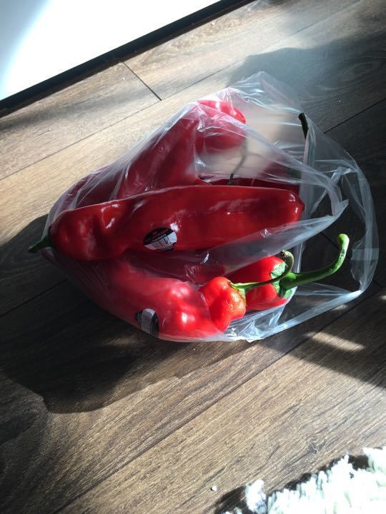 7 x Red Peppers