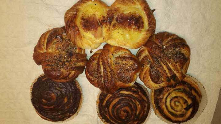Mix of pastries (7 pieces)