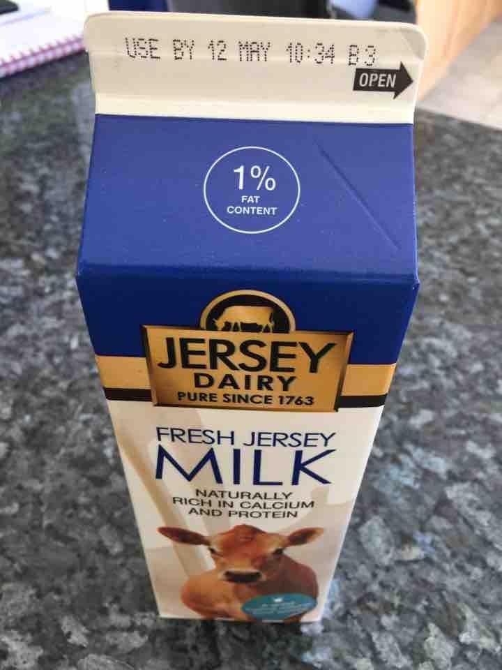 Blue milk 1l