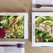 Pret A Manger salads - Manchester city centre