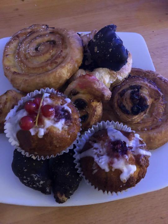Selection of pastries courtesy of Benita Bakery