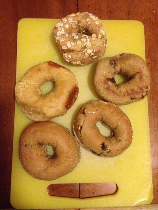 Mixed bagels