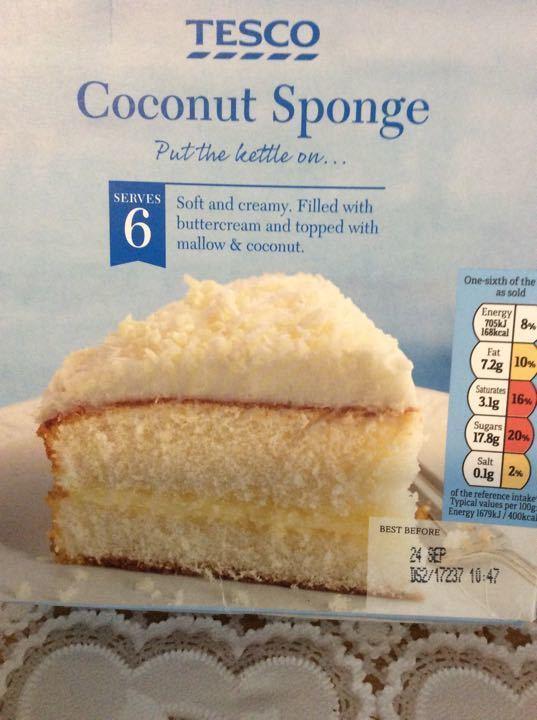 Coconut sponge