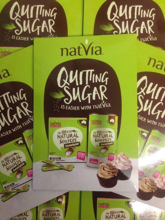 Natvia Quitting Sugar