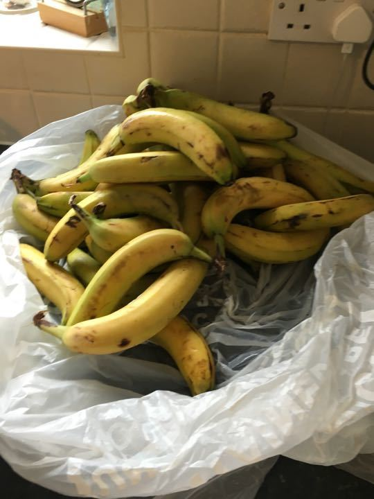 Bananas need using up - ideal for baking