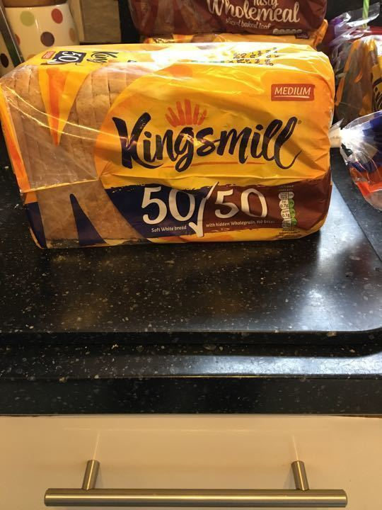 Kingsmill 50/50 bread