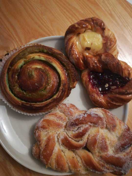 Mixed pastries from PeSso