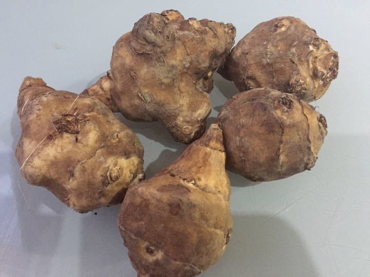 Organic Jerusalem artichokes, from my veg box