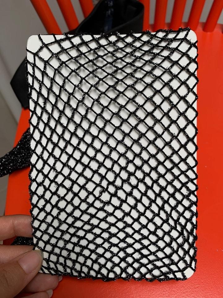 Fishnet tights - new, glittery