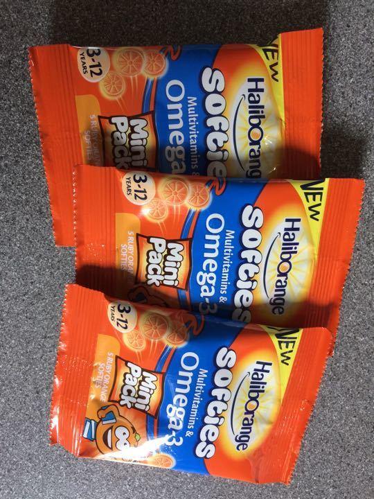 Children's Multivitamins & Omega3, 3 mini packs