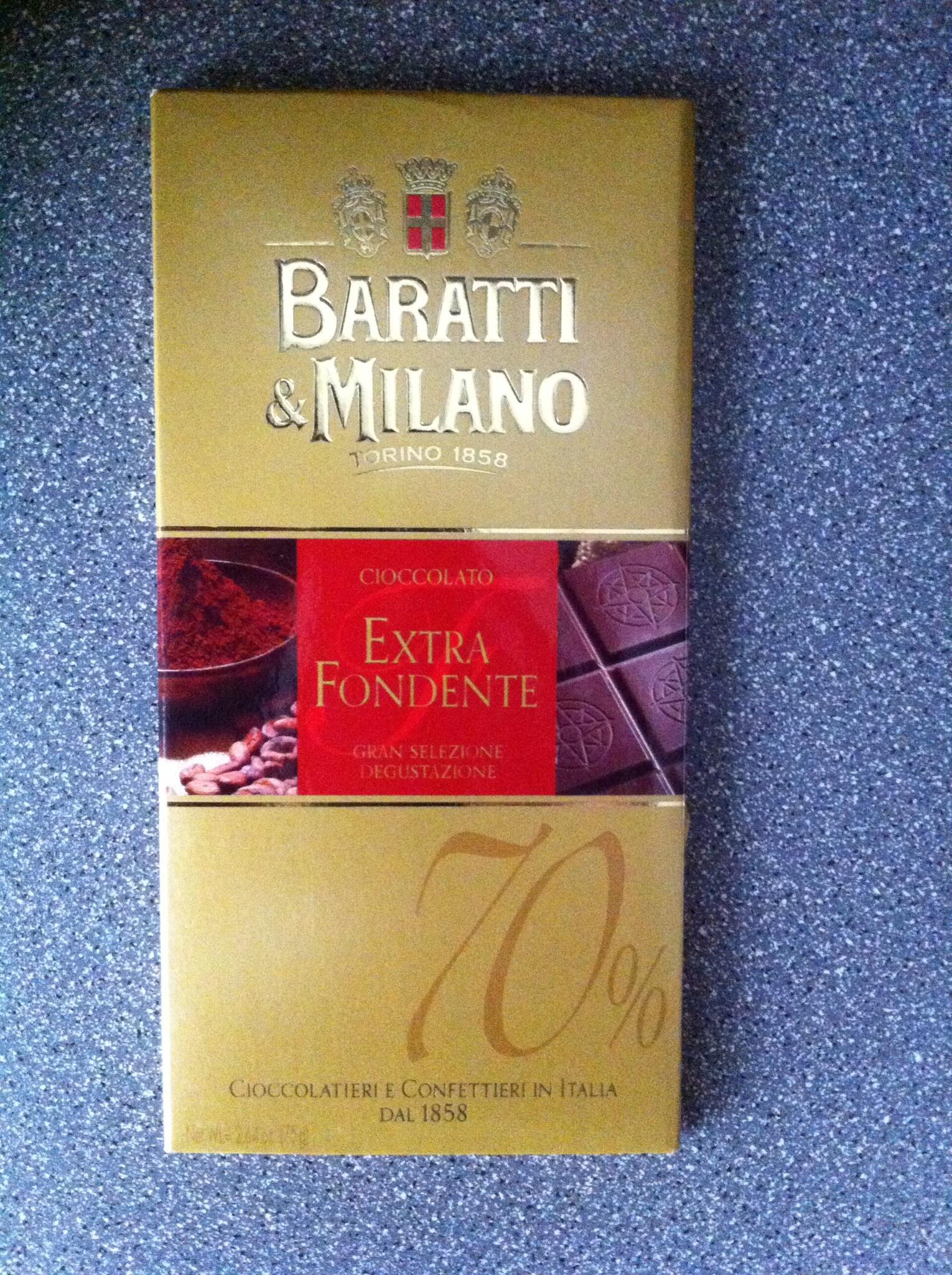 Italian 70% chocolate