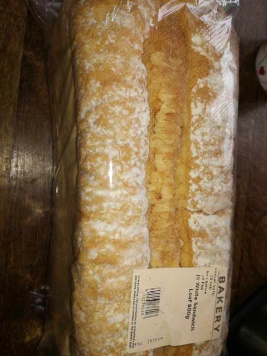 Large tin loaf