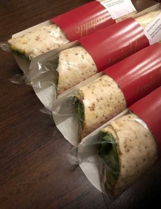 Variety of Pret A Manger Wraps