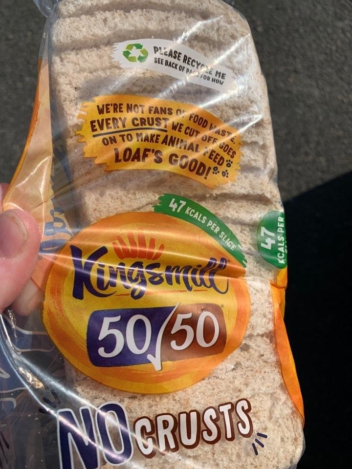 Kingsmill 50/50 crustless