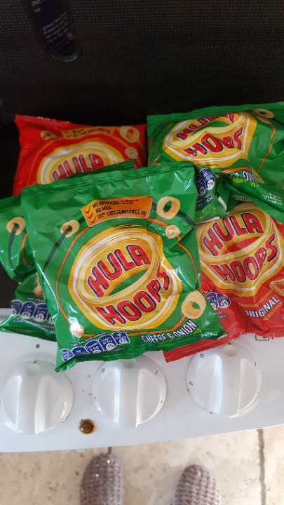 Hula hoops x 6 bags