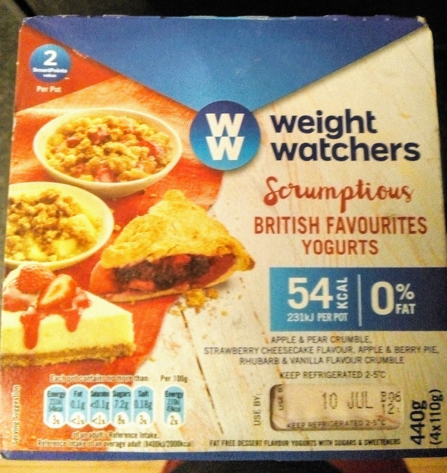 British favourite yogurts