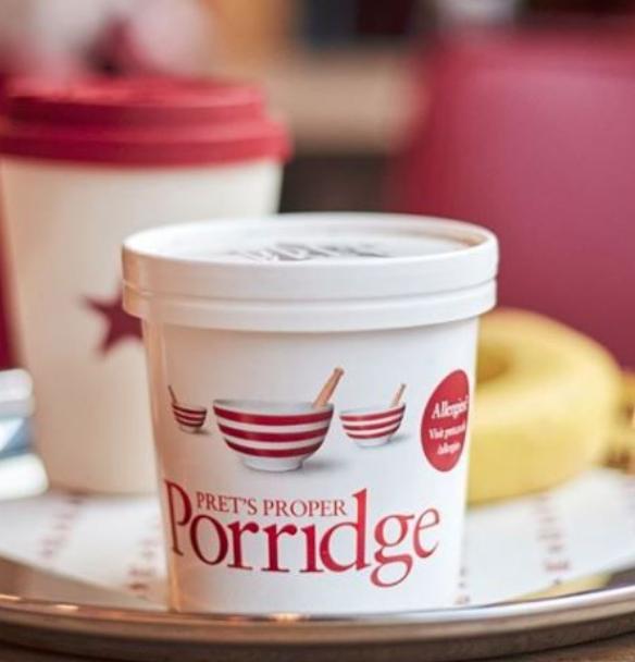 Pret heat me at home porridge