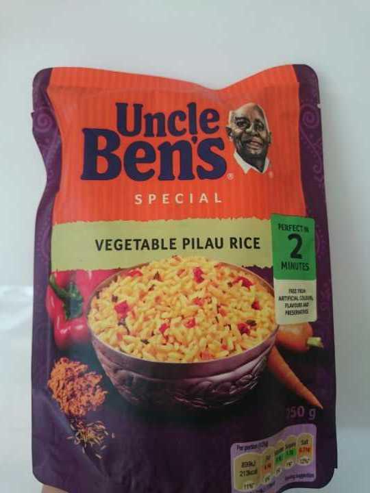 Uncle Ben's Vegetable Pilau Rice