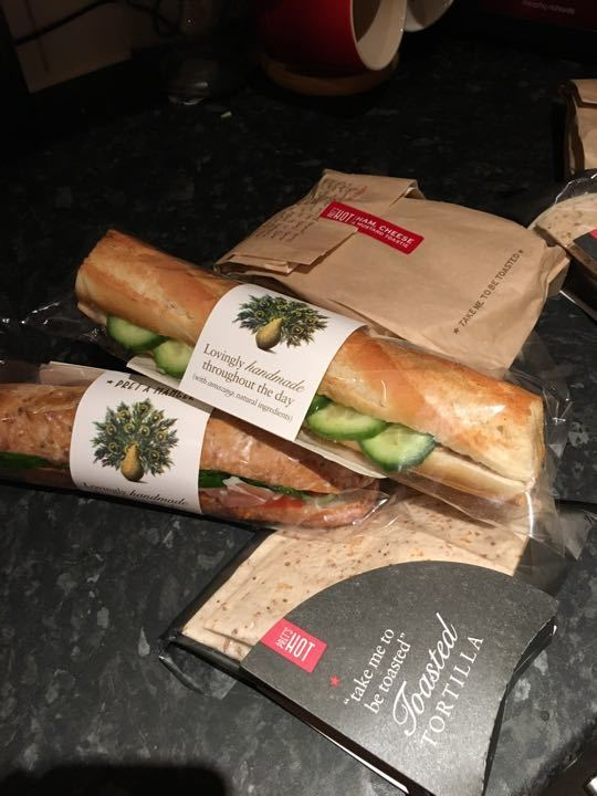 Pret Assorted Food Packs