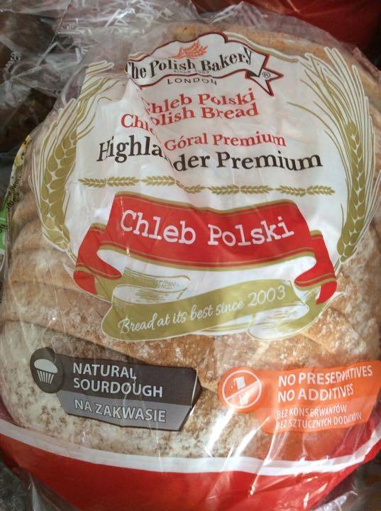 Polish sour dour bread