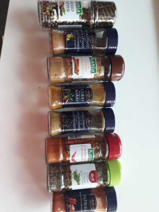 Many spices