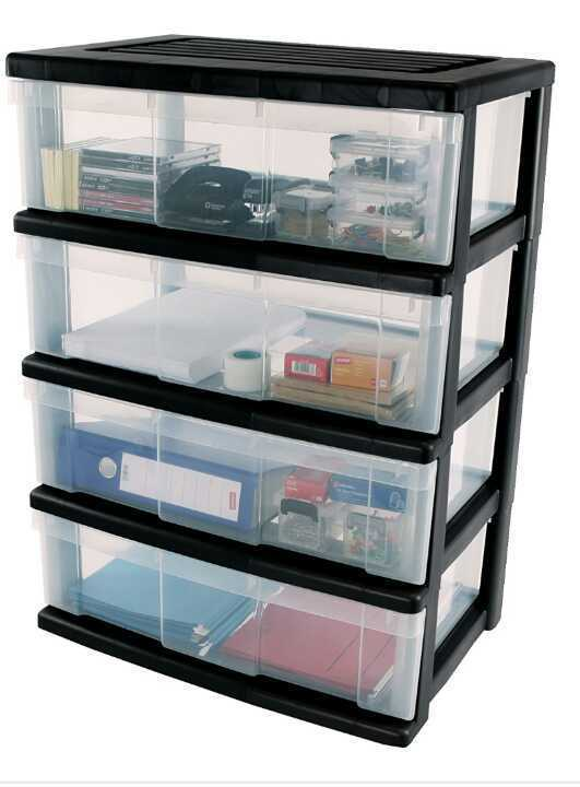 Plastic Storage Drawers - Set /chest of Drawers or similar