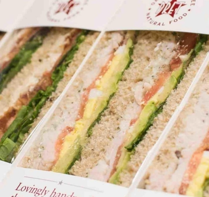 PRET A MANGER - SANDWICHES #max 7 per person#