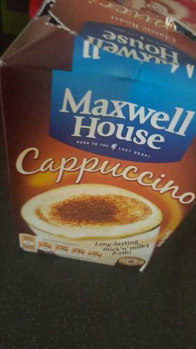 cappuccino sachets