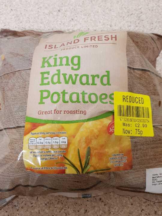 King Edward Potatoes x2