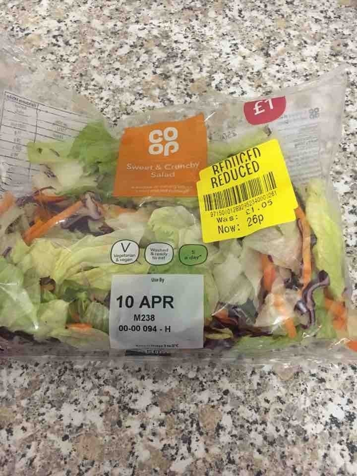Sweet crunchy salad