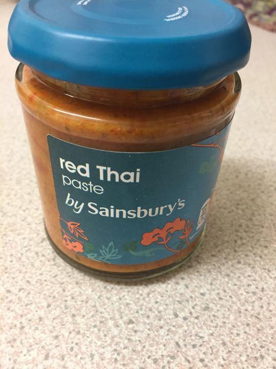 Red Thai paste